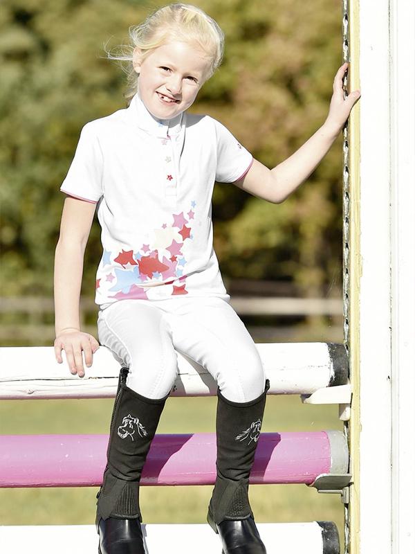 Kinderturniermode mit verspielten Details, Reitsport Toscaninihof Salzburg, Kinder, Pferde, Reiten