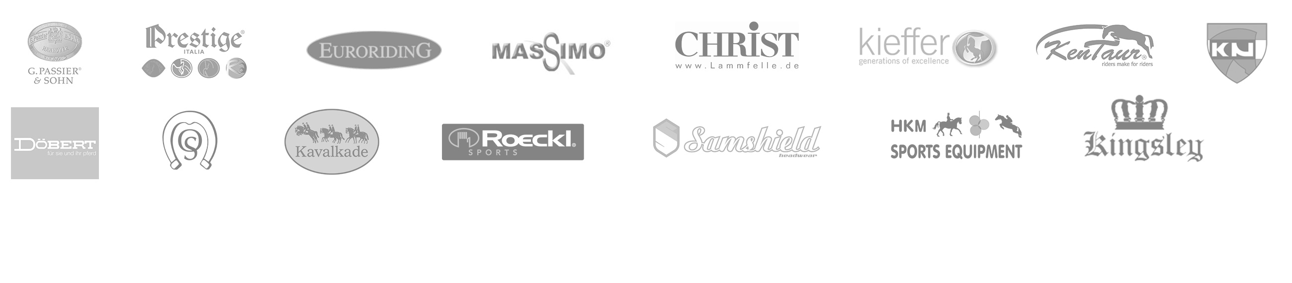 Reitsport Toscaninihof - Partner - Logos
